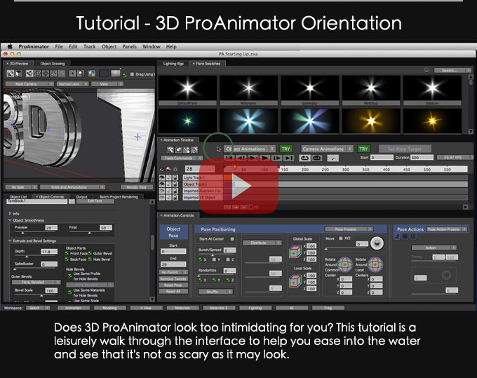 ProAnimator Beginner Tutorial