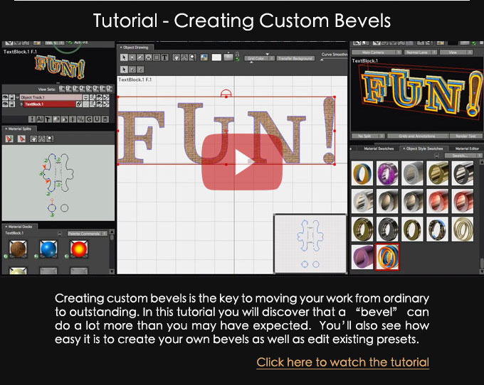 Creating Custom Bevels Tutorial