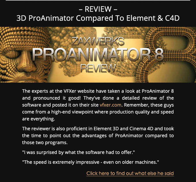 3D ProAnimator Review