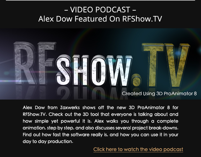 Alex RFShow.tv Podcast