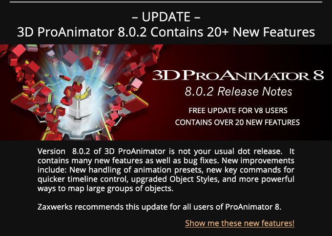 ProAnimator 8.0.2